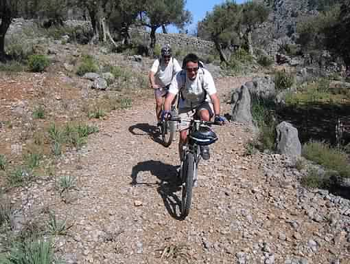 Easy Soller mountain bike trail
