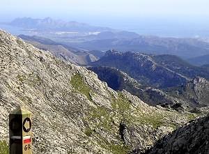 Spectacular views in the Tramuntana mountains