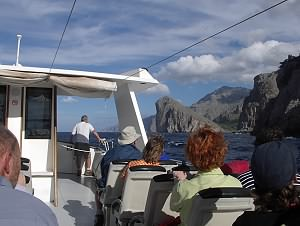 Boat trip back to Port Soller